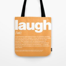 definition LLL - Laugh Tote Bag