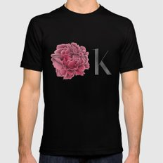 OK Black MEDIUM Mens Fitted Tee
