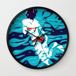 Spiritual bath Wall Clock