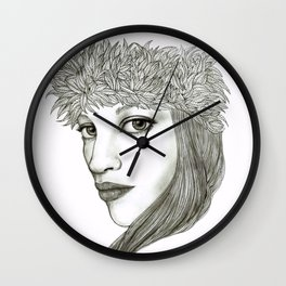 María Wall Clock