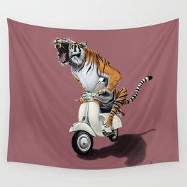 Rooooaaar! (colour) Wall Tapestry