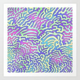 paramecium Art Print