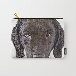 Dog Curly-coated Retriever hyphenated upland bird waterfowl hunting Carry-All Pouch
