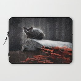 BLACK CAT II Laptop Sleeve