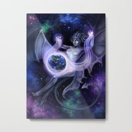 Otherworldly Metal Print