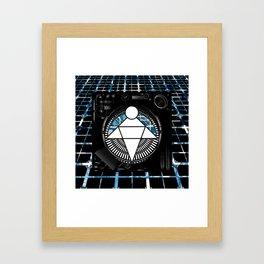 Algorithm Angel Framed Art Print