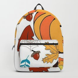 Halloween themed illustration Backpack