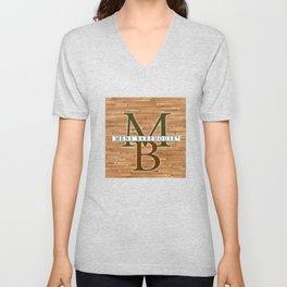 Mens Barehouse Wood Edition Unisex V-Neck