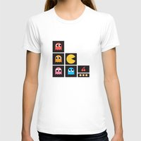pac man T-shirts featuring pac man by pixel.pwn | AK
