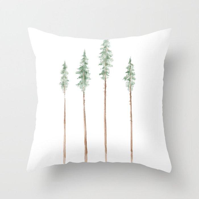 Pine Trees Deko-Kissen