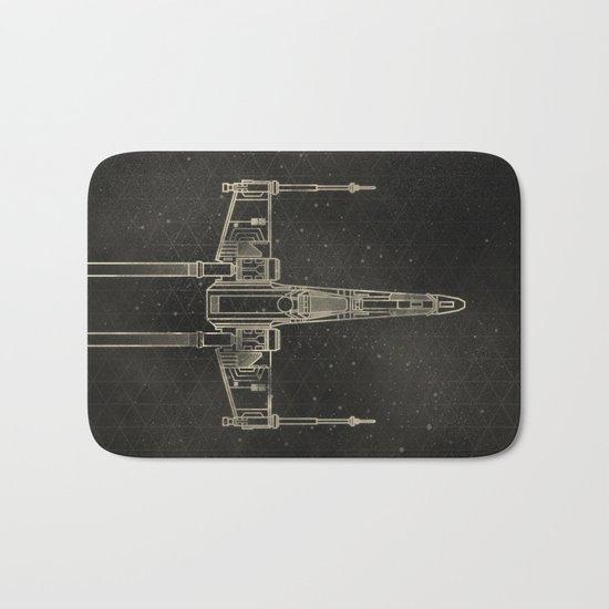 X-Wing Fighter Bath Mat