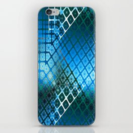 Place 2B Pattern (Summer Sky Blue) iPhone Skin