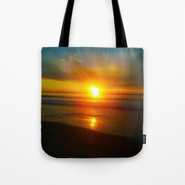 Sunrise over the Bay Tote Bag