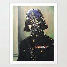 Colonel Vader Art Print