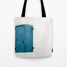 Old blue store Tote Bag