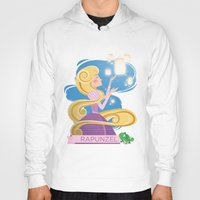rapunzel Hoodies featuring Rapunzel by LindseyCowley