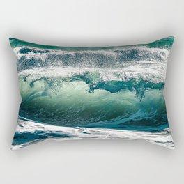 Wild waves Rectangular Pillow