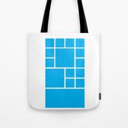 Windows Phone 8 Grid - Blue Tote Bag