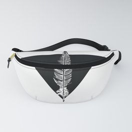Geo Feather Fanny Pack