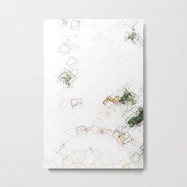 square fantasy landslides Metal Print