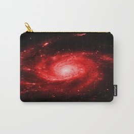 Spiral gAlaxy Red Carry-All Pouch
