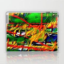 Abstract intense mixed Laptop & iPad Skin