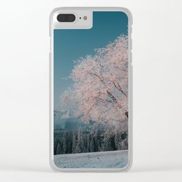 First light - Landscape and Nature Photography Clear iPhone Case