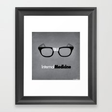 internal medicine Framed Art Print