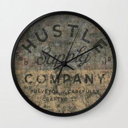 Cloth Supply Wall Clock