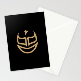 mascaras3 Stationery Cards