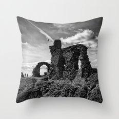 Crow Crag Throw Pillow