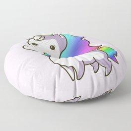 Super Cute Rainbow Unicorn Kawaii Floor Pillow