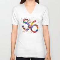 indie V-neck T-shirts featuring Indie Artists Society 6 by Shelly Penko