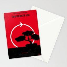 No125 My KARATE KID minimal movie poster Stationery Cards