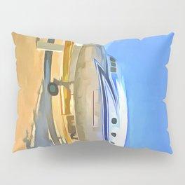 Pop Art Airliner Pillow Sham