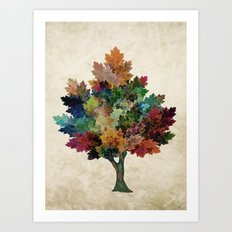 Fall is Back! Art Print