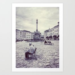 Olomouc city photo #Olomouc #photo #city Art Print
