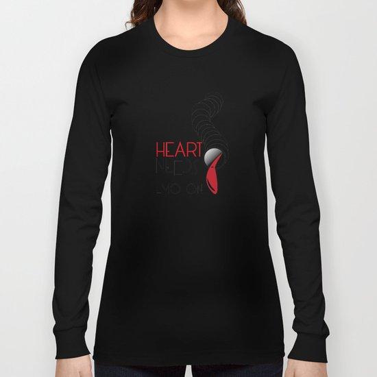 Heart Needs Emotion Long Sleeve T-shirt