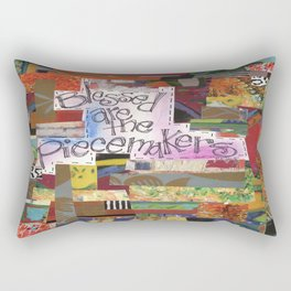 Blessed are the Piecemakers Rectangular Pillow