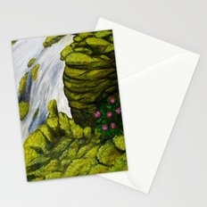 Mossy Waterfall Stationery Cards