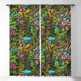 Colorful Bush Blackout Curtain