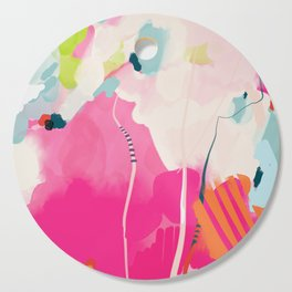 pink sky II Cutting Board
