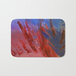 Abstract Untitled Creation by Robert S. Lee Bath Mat