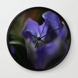 Gentian Wall Clock