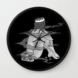 Pinup 3 Wall Clock