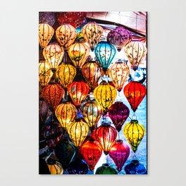 Lanterns of Hoi An, Vietnam I Canvas Print
