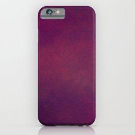 Dark burgundy red  iPhone Case