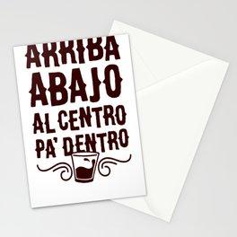 ARRIBA ABAJO AL CENTRO PA_ DENTRO T-SHIRT Stationery Cards