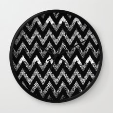 life in black and white Wall Clock