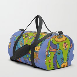 Bison, cool wall art for kids and adults alike Duffle Bag